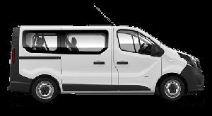 opel vivaro bus 9 osób wynajem szczecin