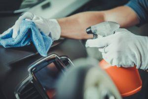 dezynfekcja wypozyczalnia samochodów Szczecin